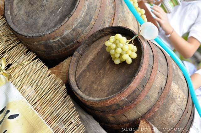 Sagra dell'Uva e il problema della frazione